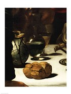 The Supper at Emmaus, Detail 1601 (bread)