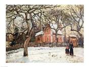 Chestnut Trees at Louveciennes, c.1871-2
