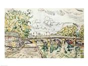 The Pont Neuf, Paris, 1927