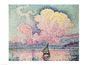 Antibes, the Pink Cloud, 1916