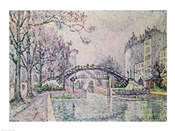 The Canal Saint-Martin, 1933