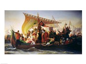 The Crossing of the Bosphorus by Godfrey of Bouillon