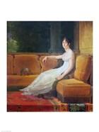Empress Josephine - yellow couch
