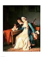 The Music Lesson, 1790