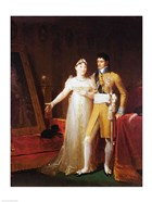 Portrait of Jerome Bonaparte - with a woman