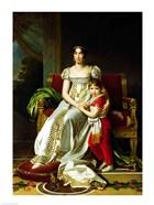 Hortense de Beauharnais and Child