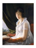 Seated Portrait of Marie-Philippe-Claude Walbonne