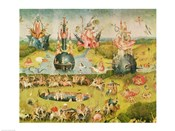 The Garden of Earthly Delights: Allegory of Luxury, horizontal central panel of triptych, c.1500