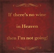 Wine in Heaven