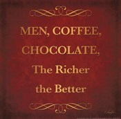 Men, Chocolate & Coffee