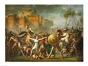 The Sabine Women, 1799