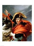 Napoleon Crossing the Alps, detail