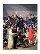 The Tennis Court Oath, 20th June 1789 Portrait