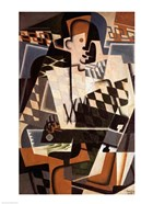 Harlequin with a Guitar, 1917