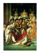 The Consecration of the Emperor Napoleon and the Coronation of the Empress Josephine, detail