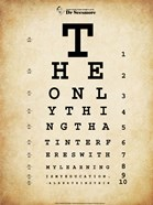 Einstein Eye Chart