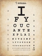 Einstein Eye Chart II