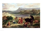 Ovid among the Scythians, 1859