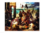 The Crusaders' entry into Constantinople