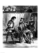 Mephistopheles and the Pupil, from Goethe's Faust