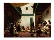 A Jewish wedding in Morocco, 1841