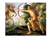 Hercules and the Stymphalian birds, 1600