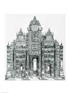 The Triumphal Arch of Emperor Maximilian I of Germany