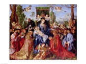 The Festival of the Rosary, 1506
