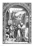 The meeting of St. Anne and St. Joachim at the Golden Gate