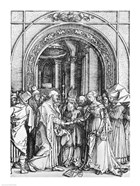 The marriage of the Virgin, from the 'Life of the Virgin'