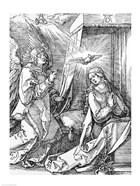 The Annunciation from the 'Small Passion' series, 1511