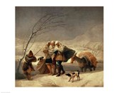 The Snowstorm, 1786-87