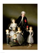 The Duke of Osuna and his Family, 1788