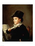 Portrait of Marianito Goya, Grandson of the Artist, c.1815
