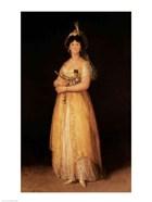 Portrait of Queen Maria Luisa