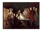 The Family of the Infante Don Luis de Borbon