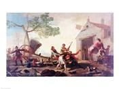 The Fight at the Venta Nueva, 1777