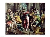Christ Driving the Traders from the Temple, c.1600