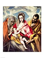 Virgin and Child with SS. Anne and Joseph