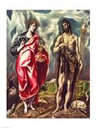 St John the Evangelist and St. John the Baptist