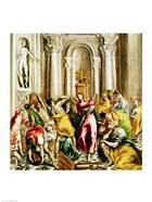 Jesus Driving the Merchants from the Temple