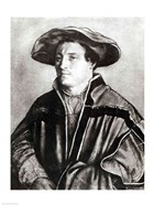 Portrait of a man with a red hat, c.1530