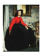 Young Lady in a Red Jacket