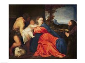 Virgin and Infant with Saint John the Baptist and Donor