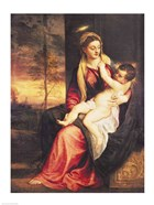 Virgin with Child at Sunset, 1560