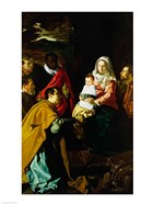 Adoration of the Kings, 1619