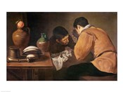 Two Men at Table
