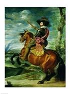 Equestrian Portrait of Don Gaspar de Guzman