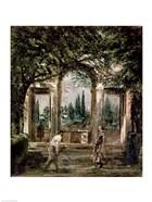 The Gardens of the Villa Medici in Rome