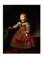 The Infanta Maria Margarita of Austria as a Child